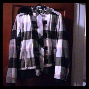 Coat plaid